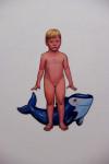 Kiddy, 2012, Acryl, Lack auf Holz, 176x104cm