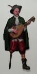 Onkel Alfred, 2011,Acryl, Lack auf Holz, 180x84cm