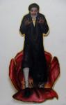 Der lange Zauber, 2010, Acryl auf Holz, 224x112cm