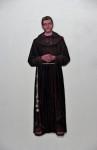 Bruder Benno, 2011, Acryl, Lack auf Holz, 181x67cm