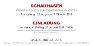 SCHAUHASEN, GALERIE HOLGER JOHN